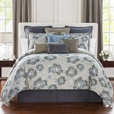 Waterford Blossom Floral Jacquard Comforter Set, California King