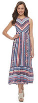 Juniors' Rewind Striped Midi Dress