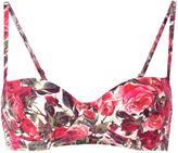 Dolce & Gabbana rose print bikini - women - Polyamide/Polyester/Polyurethane/Spandex/Elastane - I