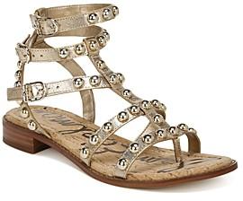 Sam Edelman Women's Eavan Studded Strappy Sandals