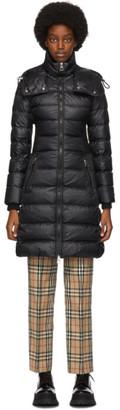 Burberry Black Down Danderhall Jacket