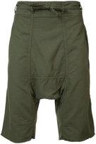 NSF drop crotch shorts - men - Cotton - L