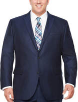 Jf J.Ferrar JF  Stripe Classic Fit Stretch Suit Jacket-Big and Tall