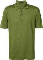 Kiton classic polo top - men - Silk/Linen/Flax - M