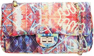 Marc Ellis Ghetty M Shoulder Bag In Multicolor Leather