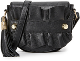 Milly Ruffle Cross Body Saddle Bag