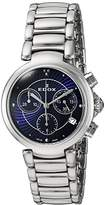 Edox Women's 10220 3M BUIN LaPassion Analog Display Swiss Quartz Silver Watch