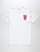 Riot Society Rain Drop Cup Mens T-Shirt