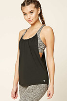 Forever 21 FOREVER 21+ Active Twofer Sports Bra Tank