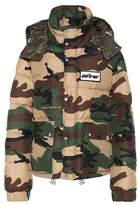 Off-White Camouflage down jacket