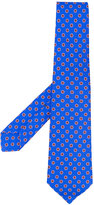 Kiton woven pattern tie - men - Silk - One Size