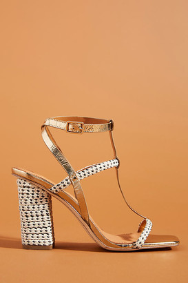 Franco Sarto Sarto by Avis Heels By in Gold Size 7