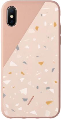 Native Union Clic Terrazzo iPhone XS Max Case - Rose