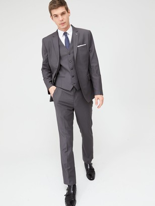 Very Man StretchRegular Suit Trousers - Grey