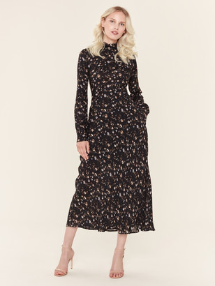 IRO Casual Long Sleeve Maxi Dress