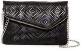 Hobo Daria Embossed Leather Crossbody Clutch