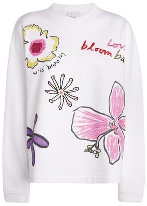 Mira Mikati Flower Embroidered Sweater