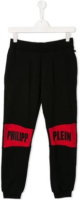 Philipp Plein Junior Statement jogging trousers
