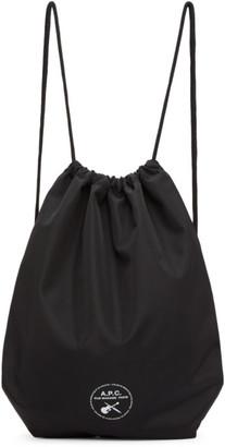 A.P.C. Black Swing Backpack