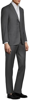 Canali Regular Fit Solid Two-Piece Suit