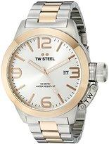 TW Steel Men's CB122 Analog Display Quartz Two Tone Watch