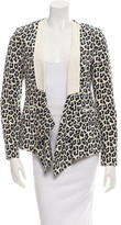 3.1 Phillip Lim Silk Printed Blazer w/ Tags