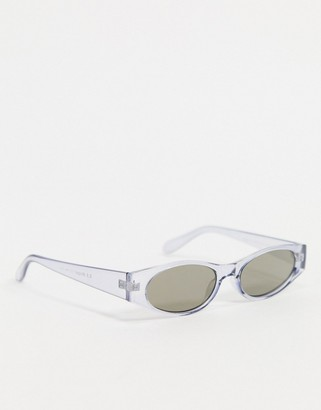 A. J. Morgan AJ Morgan Wincey sunglasses in clear blue