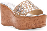 Donald J Pliner Cloesp Wedge Sandals