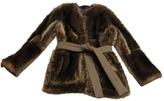Balenciaga Racoon coat
