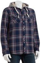 Sonoma life + style® plaid flannel shirt jacket - men