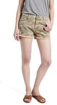 Current/Elliott Women's The Boyfriend Cutoff Denim Shorts