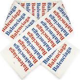 Balenciaga Padded Logo Scarf