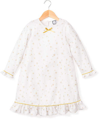 Petite Plume Catherine Gilded Celebration Nightgown, Size 6M-14