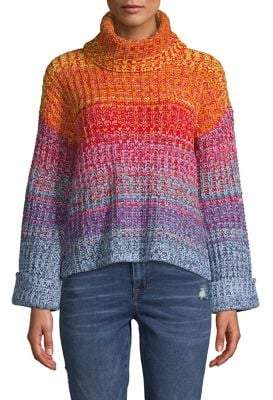 525 America Ombre Turtleneck Sweater