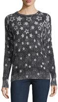 Autumn Cashmere Reversible Inked Stars Cashmere Sweatshirt