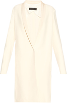 Haider Ackermann Momu single-breasted crepe coat