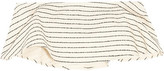 Mara Hoffman Striped Basketweave Cotton-blend Bandeau Top - Cream