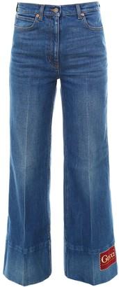 Gucci Flared Denim Jeans