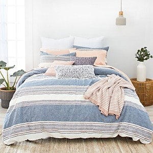 Splendid Tuscan Stripe Duvet Cover Set, Full/Queen