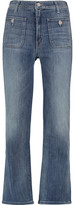 Mother High-Rise Flared Jeans