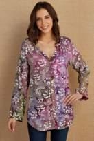 Soft Surroundings Back To Batik Tunic