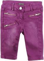 MICROBE Denim pants - Item 42503152