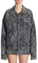 Marc Jacobs Studded Oversized Lace Jacket