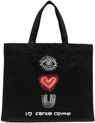 10 Corso Como I Love You tote bag