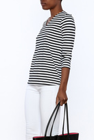 Lulu B Stripe Basic Top