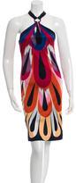 Missoni Printed One-Shoulder Dress