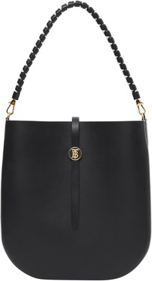 Burberry Anne Smooth Leather Bag