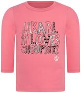 Karl Lagerfeld Baby Girls Pink Jersey Top