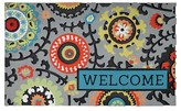 "Threshold Rubber Doormat Welcome 18""x30"