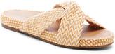 Lucky Brand Women's Sandals OCHRE - Ochre Chevron Fynna Slide - Women